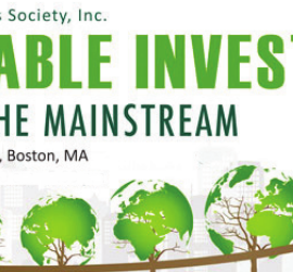 Full agenda for 2016 BSAS Sustainable Investing seminar now available