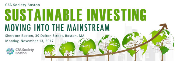 2017 Sustainable Investing Seminar