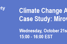 Climate Change Investing Series – Case Study: Mirova – October 21st